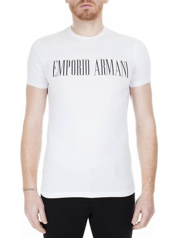 Emporio Armani Regular Fit T-Shirt Erkek T-Shirt S 6G1Td5 1J0Az 0100