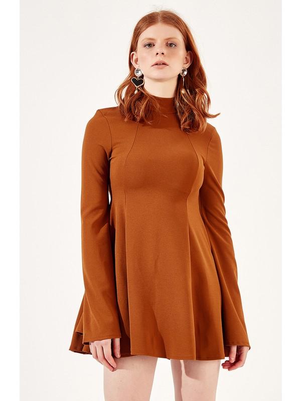 Manche Kahve Kadın Elbise Mk20S283147
