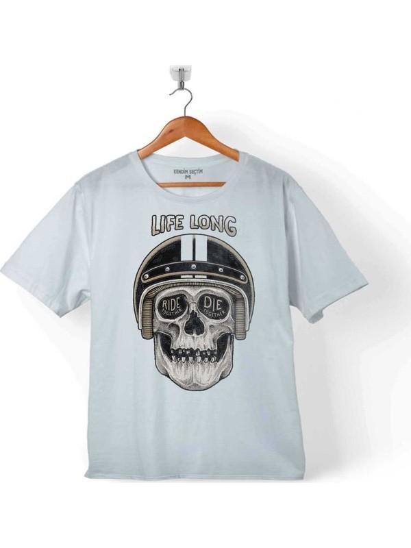 Kendim Seçtim Lıfe Long Togother Rıde Ir Dıe Ölüm Yarışı Çocuk T-Shirt
