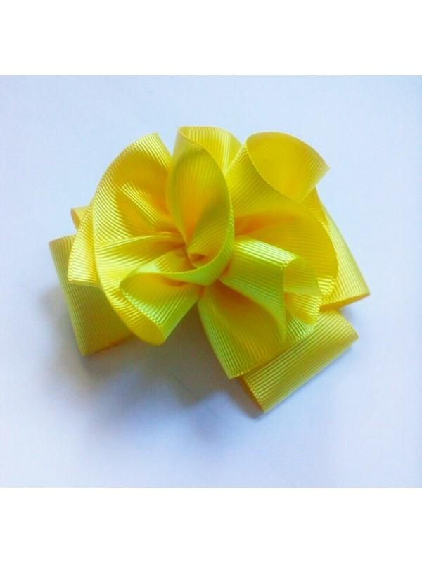 Pamuk Şekeri Hobi Evi Çiçek Model Kurdele Çocuk Saç Tokası