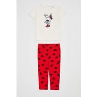 DeFacto Kız Bebek Minnie Mouse Lisanslı Alt Üst Takım N6017A220SP