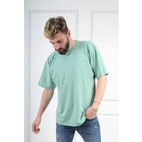 Luppo Club Oversized Su Yeşili Erkek T-Shirt L