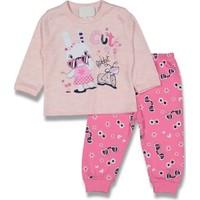 Dandini Tavşanlı Gözlüklü Kız Bebek Pijama Takım