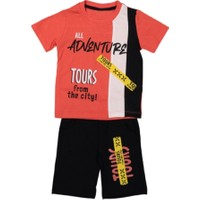 Yavrucak Adventure Erkek Çocuk Şortlu Takım 95405