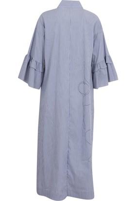 Bize Fashion 2341 Kadın Elbise Oranj