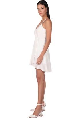 Markapi̇a Woman Askılı Beyaz Elbise