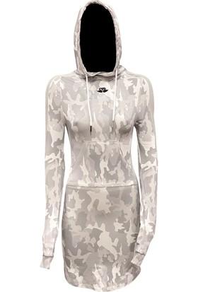 Fit And Size Kadın Bambu Kapşonlu Elbise