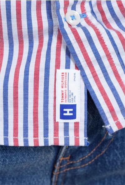 Tommy Hilfiger Erkek Gömlek MW0MW08969903 U001953 - Lacivert