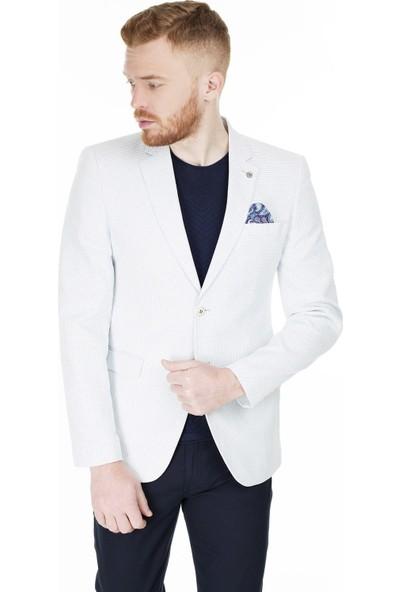 Frappoli Slim Fit 6 Drop Tek Yırtmaçlı Ceket Erkek Ceket 2168078