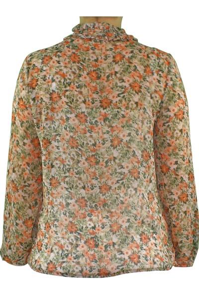 Nemisia Çiçek Desenli Bluz