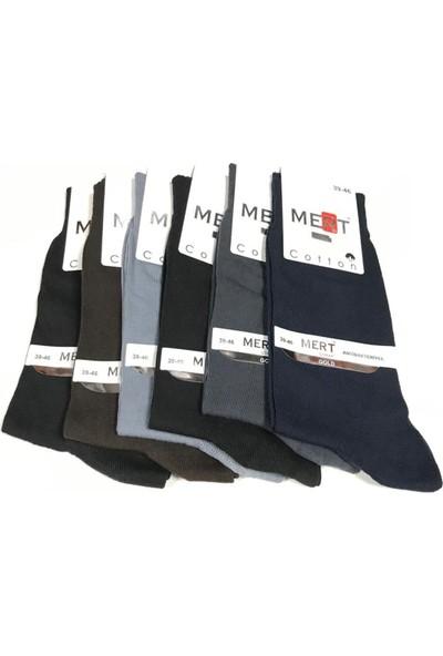 Mert Erkek Coton 6'lı Set Çorap