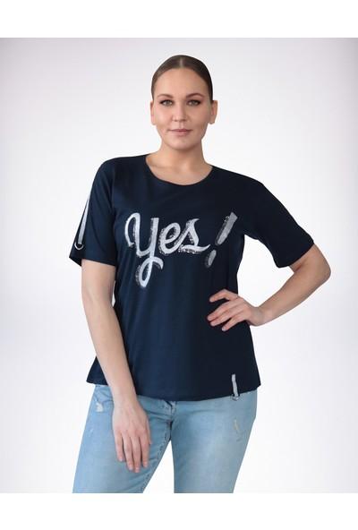 No Secret Büyük Beden T-Shirt