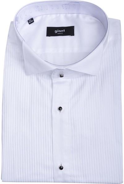 Giantport Z200.A Erkek Gömlek Beyaz