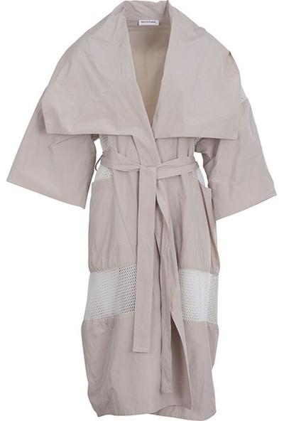 Bize Fashion 1147 Kadın Ceket Bej