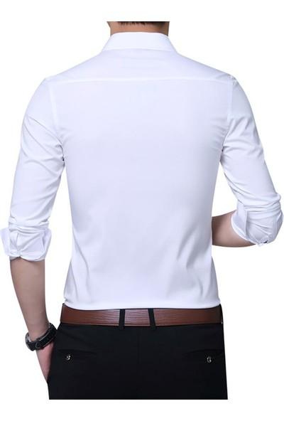 Sentini ES1307NY Erkek Dar Kesim Takım Elbise Gömleği