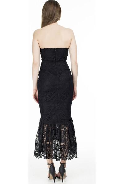 Ayhan Straplez Elbise Kadın Elbise 04661000