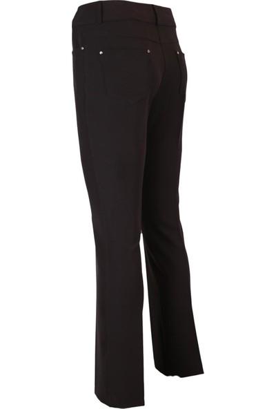 Moda İlgi Boru Paça Pantolon Kadın Pantolon 1974012