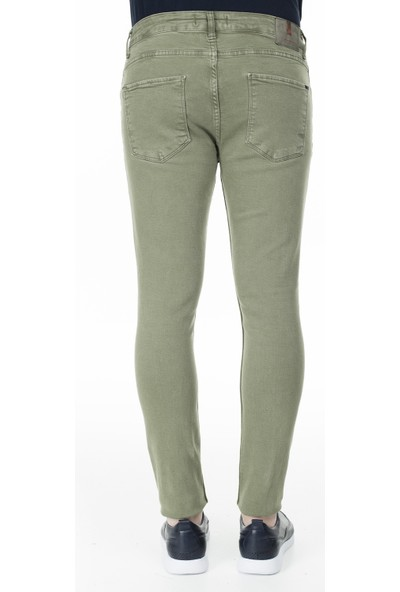 Buratti Skinny Jeans Erkek Kot Pantolon 7302F7332Ghost