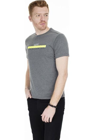 Buratti Baskılı Bisiklet Yaka T-Shirt Erkek T-Shirt 0438216