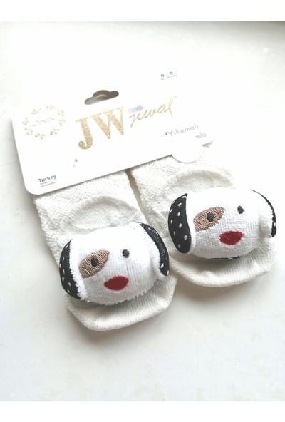 Jewal Oyuncak Köpek Aksesuarlı Pamuklu Bebek Çorabı