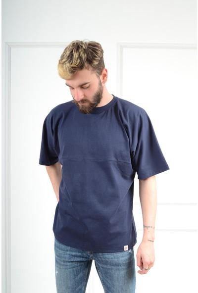 Luppo Club Oversized Lacivert Erkek T-Shirt Xl