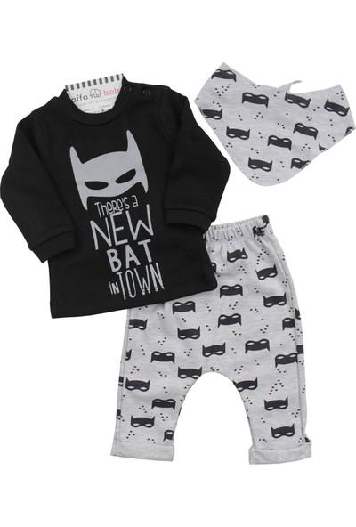 Minizeyn New Bat Erkek Bebek 3'lü Takım