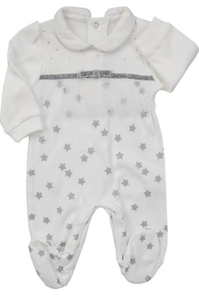 Mombi Yıldızlı Tüllü Kız Bebek Tulum
