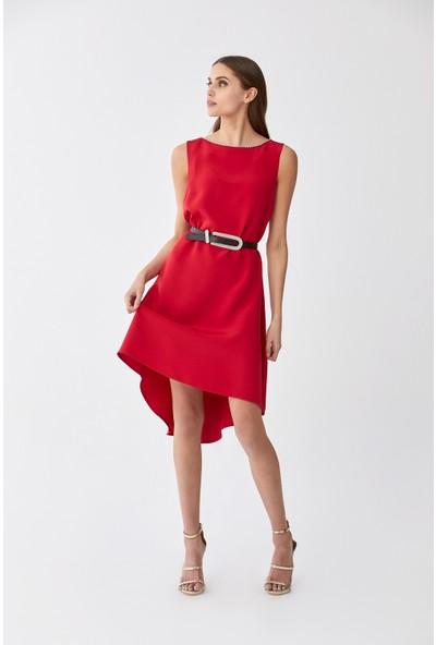 Roman Kırmızı Elbise-Y2011502-006