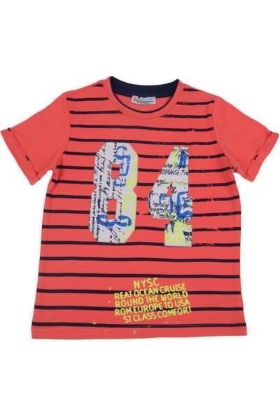 Mackays Rakam Baskılı Naskışlı Tshirt