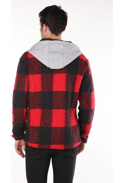Markapia Man Kapüşonlu Gömlek Ceket