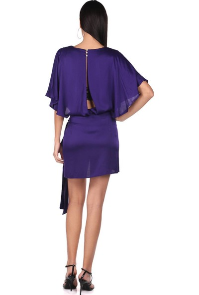 Markapia Woman Saten Elbise