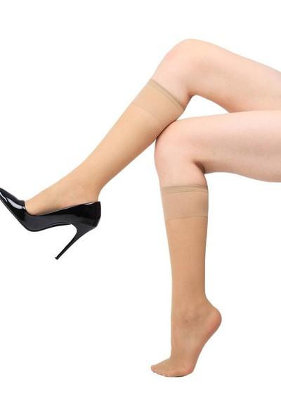 Öğretmen 15 Ince Tül Pantolon Çorabı Ten