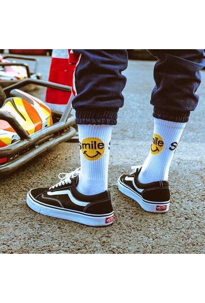 Cool Store Smile Kolej Eğlenceli Çorap