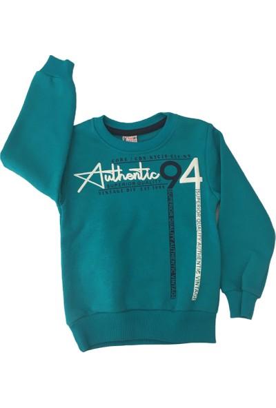 Acar Authentıc Erkek Çocuk Kazak - 5-8 Yaş - Mavi