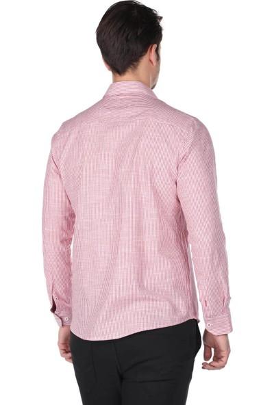 Markapia Çizgili Erkek Gömlek