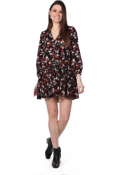 Markapi̇a Woman Çiçek Desenli Mini Elbise