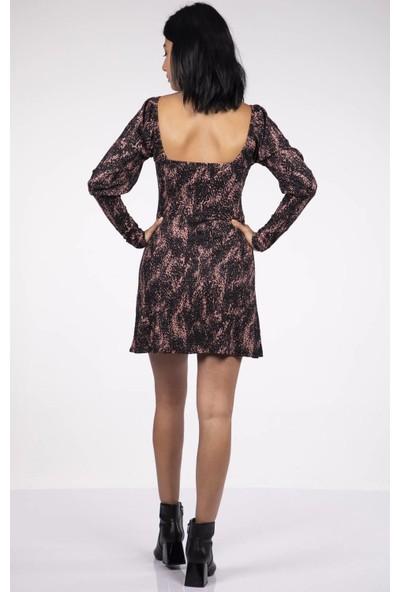 Markapia Woman Desenli Elbise