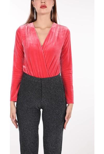 Markapia Woman Kadife Bluz