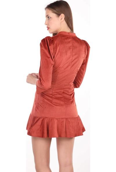 Markapia Woman Kadife Elbise
