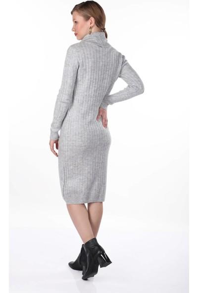 Markapi̇a Woman Saç Örgülü Triko Elbise