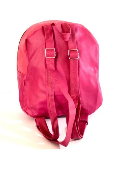 Amazon Çanta Pembe Aynalı Işıklı Çocuk Çantası