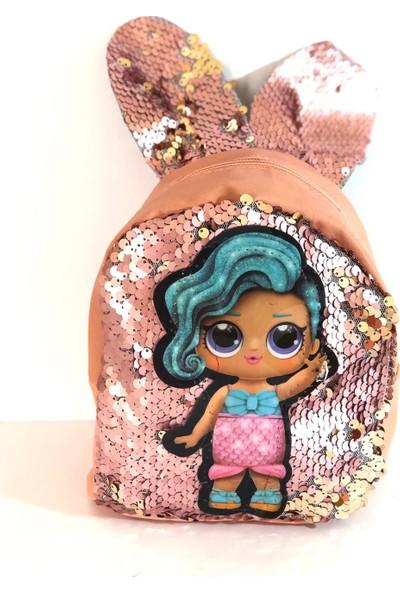 Amazon Çanta Işıklı Kulaklı Lol Bebek Çocuk Çantası