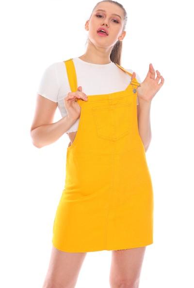 PodiumStar Kısa Salopet Elbise