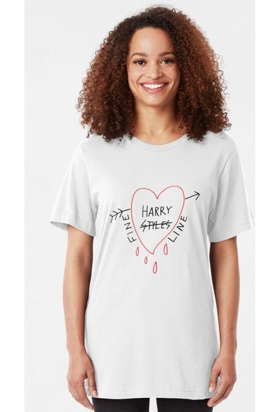 Kuppa Shop Harry Styles One Direction Baskılı Tshirt
