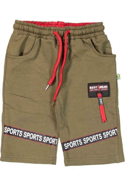 Mışıl Erkek Çocuk Sports Baskılı Kapri 5 - 6 Yaş