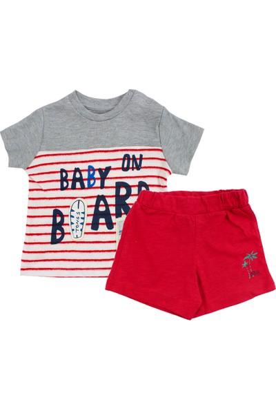 Tongs Baby Erkek Bebek Baby On Board Şortlu Takım 9 Ay