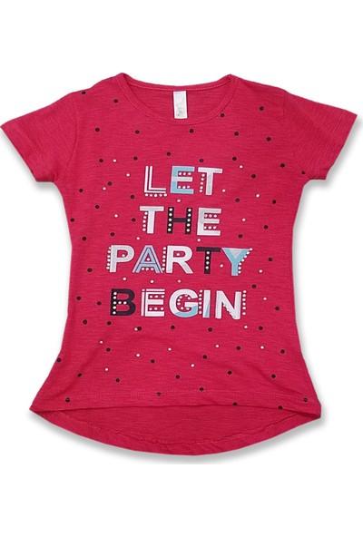 Difa Flamlı Let Party Begim T-Shirt