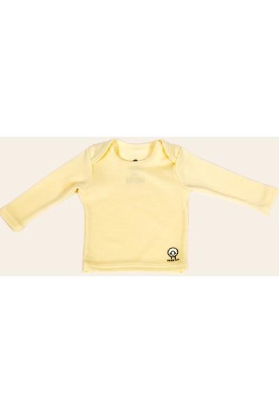 Woolnat Terletmeyen Merino Yün Koyunlu Uzun Kollu Çocuk T-Shirt