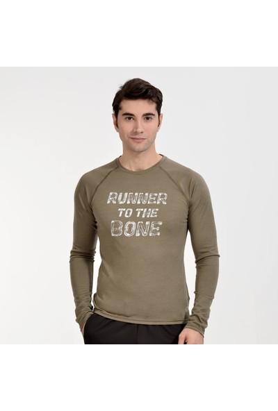 Woolnat Terletmeyen Merinos Ultra Maraton Uzun Kol Erkek T-Shirt