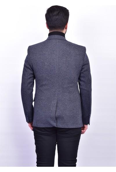 D&A Lacivert Classic Erkek Ceket DA-1651
